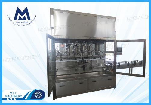 Edible oil filling machine (MIC-ZF6 piston filling machine)