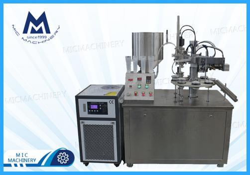 Conditioner filling and sealing machine (MIC-R30 SEMI-Auto Soft Tube Filling & Sealing Machine)