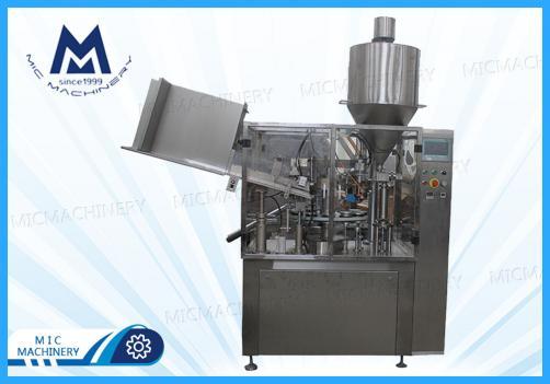 Hand cream filling and sealing machine ( MIC-R60 Auto Soft Tube Ffilling & Sealing Machine)