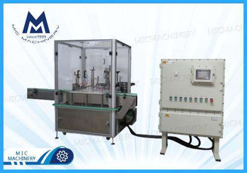 Nail polish filling and capping machine (MIC-L45 nail polish filling capping machine)