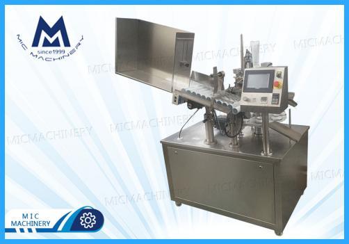 Toothpaste tube filling sealing machine (MIC-R45 tube filling sealing machine)