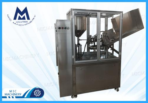 Resin aluminum tube filling sealing machine(MIC-L60aluminum tube filling sealing machine)