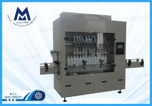 pesticide liquid filling machine (MIC-ZF12 gravity filling machine)