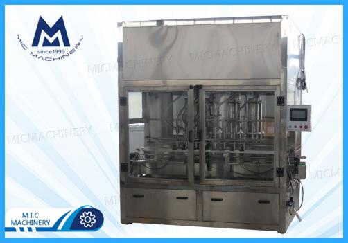 Sesame oil filling machine(MIC-ZF8 8heads piston filling and capping machine)