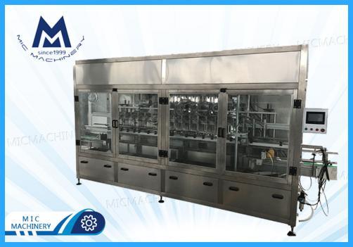Salad dressing filling machine(MIC-ZF20 piston sauce filling machine)