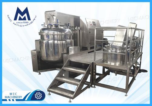 Emulsifier homogenizer (MIC-100L vacuum Emulsifier homogenizer mixer for cream sauce )