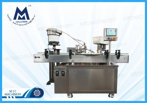 Penicillin bottle filling machine ( MIC-L40 Small glass Bottle Filling Corking And Seaming Machine )