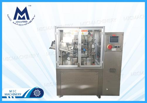 MIC-L60 Automatic Aluminum Tube Filling Sealing Machine with Material  Pressing Machine and Anti-explosion System