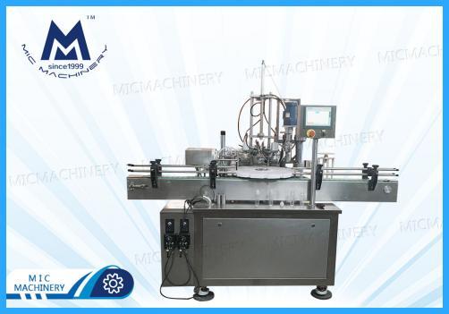 Liquid Vitamin Filling Machine(MIC-E40 automatic e-liquid filling capping machine)