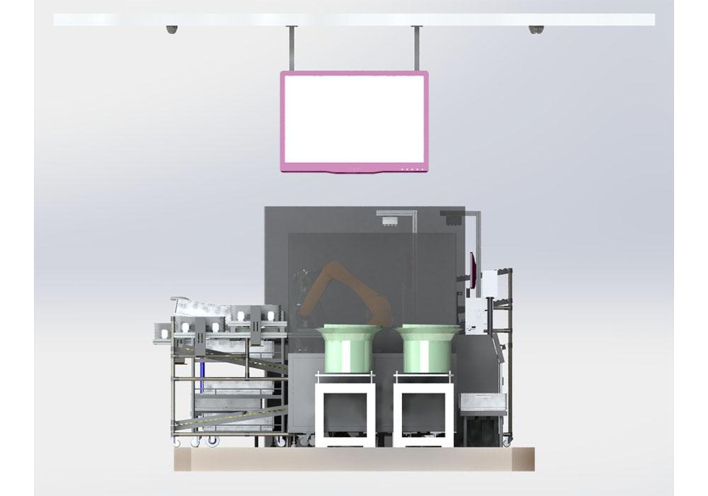 汽车传感器数字化装配生产线