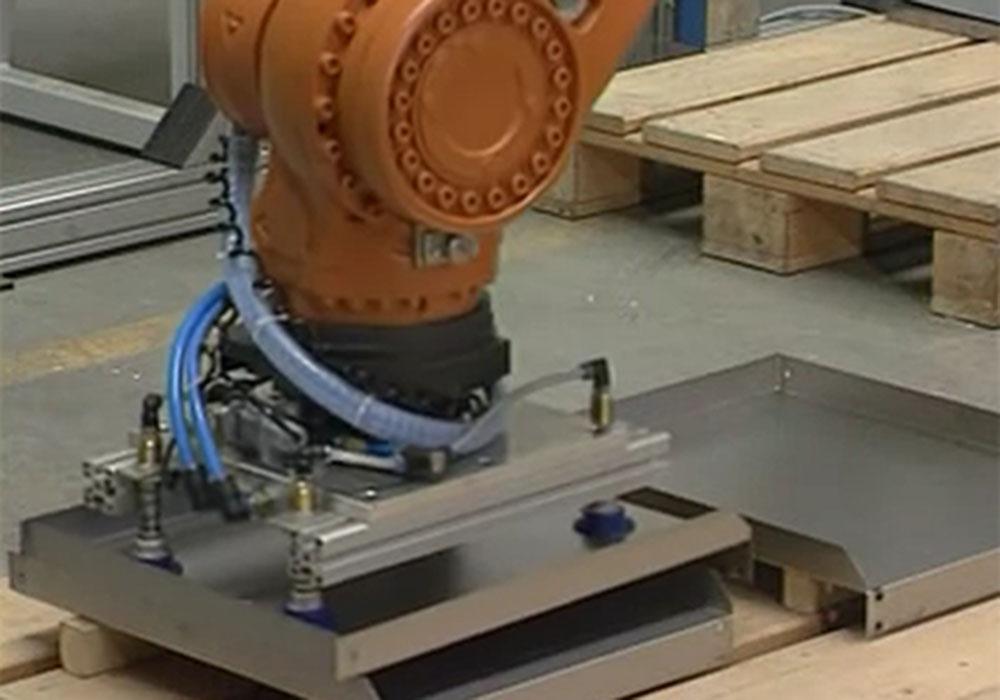 钣金折弯柔性自动化生产系统