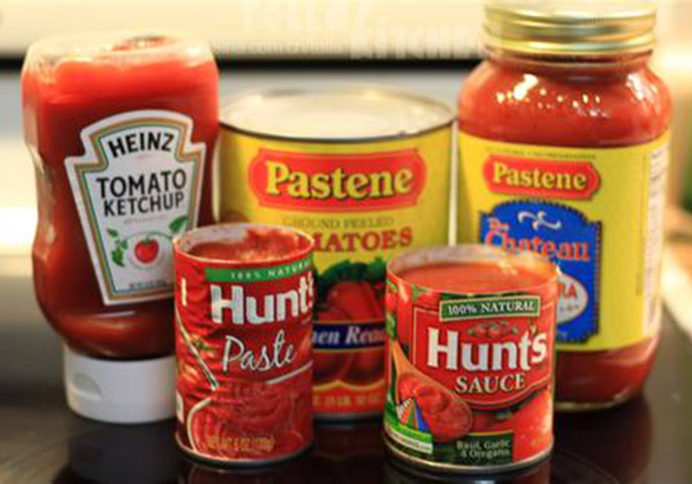 番茄酱调配生产线