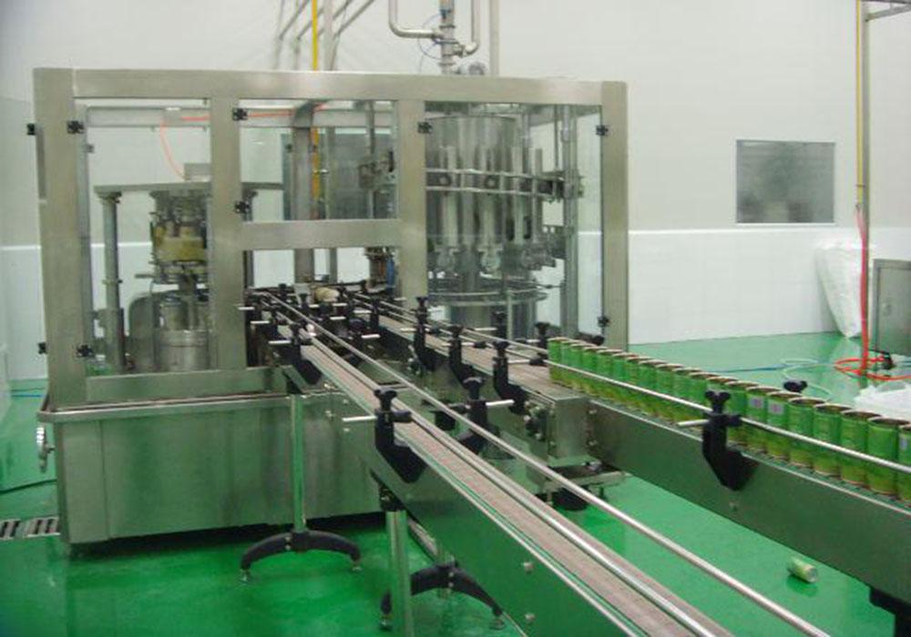 三片罐包装生产线