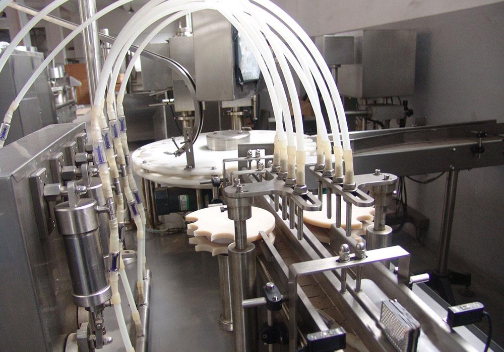 口服液灌装中试生产线