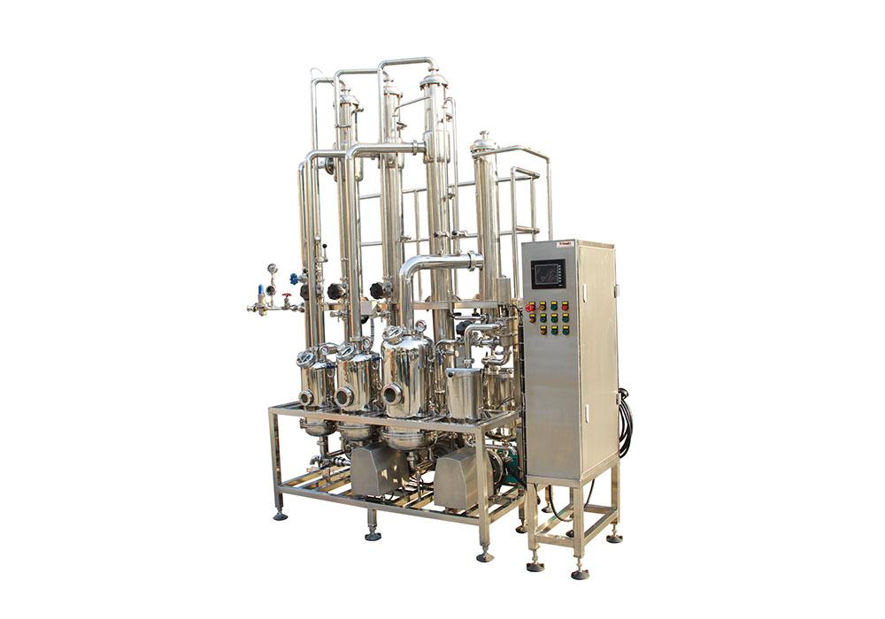 三效降膜式浓缩蒸发器