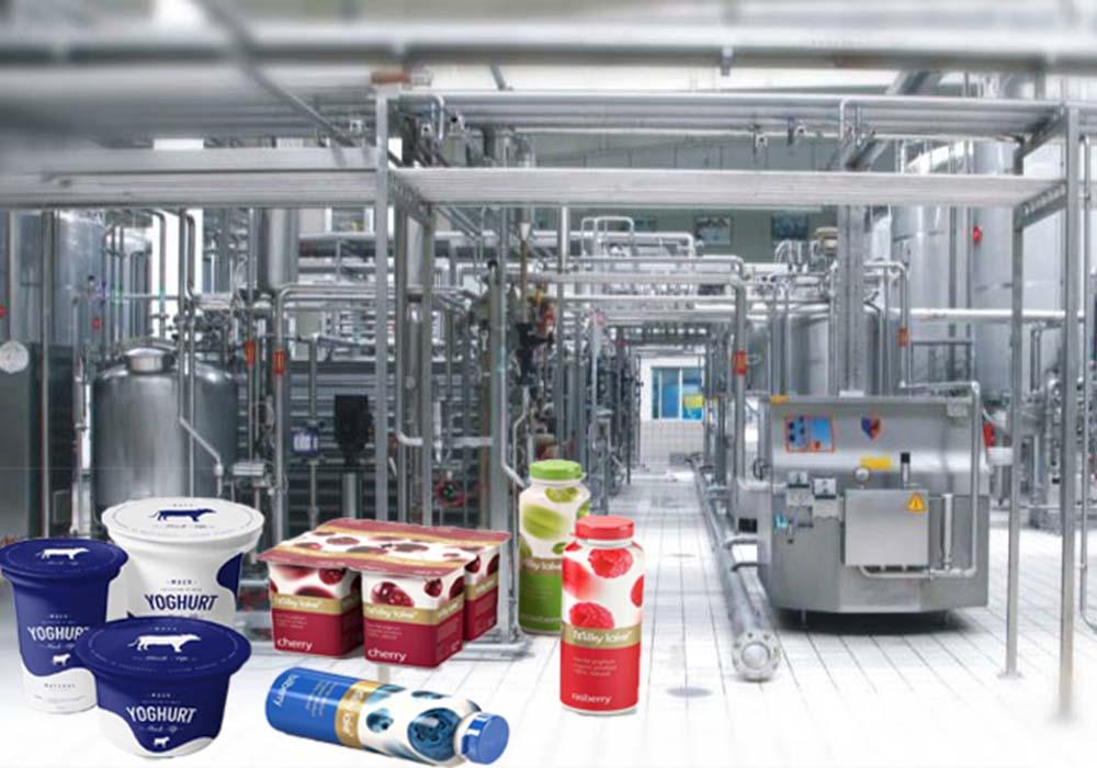 酸奶加工生产线