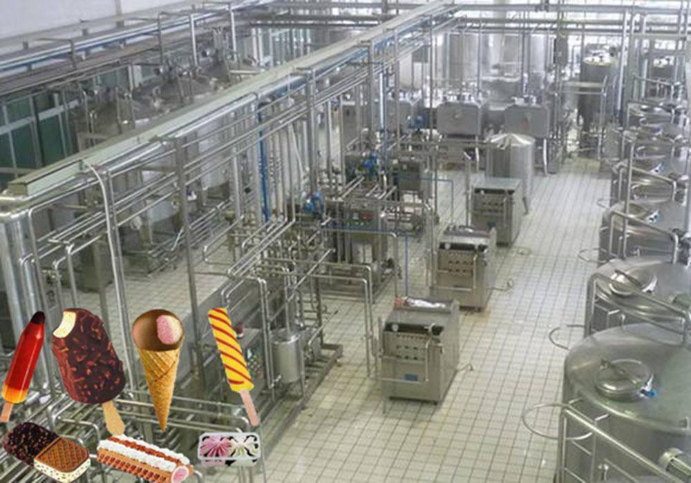 冰淇林加工生产线