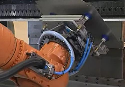 Flexible Automatic Production System For Sheet Metal Bending