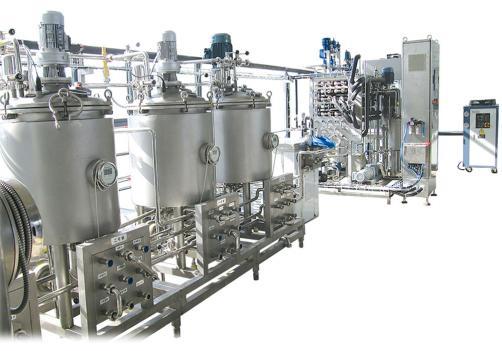 乳饮料乳制品中试生产线