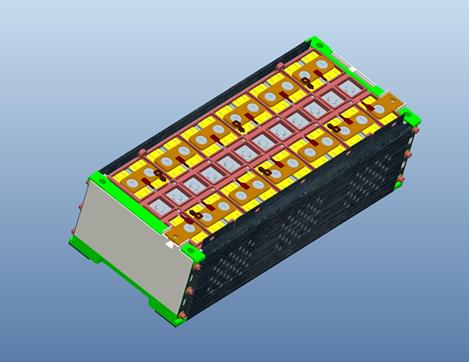 方形硬壳电芯PACK线解决方案