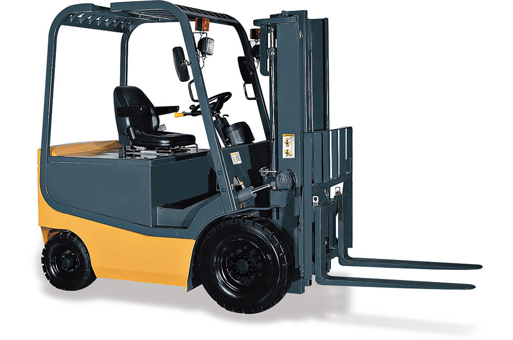4-wheel Electric Forklifts