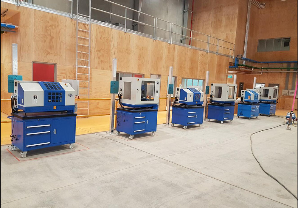 Our CNC machines came to Orewa College