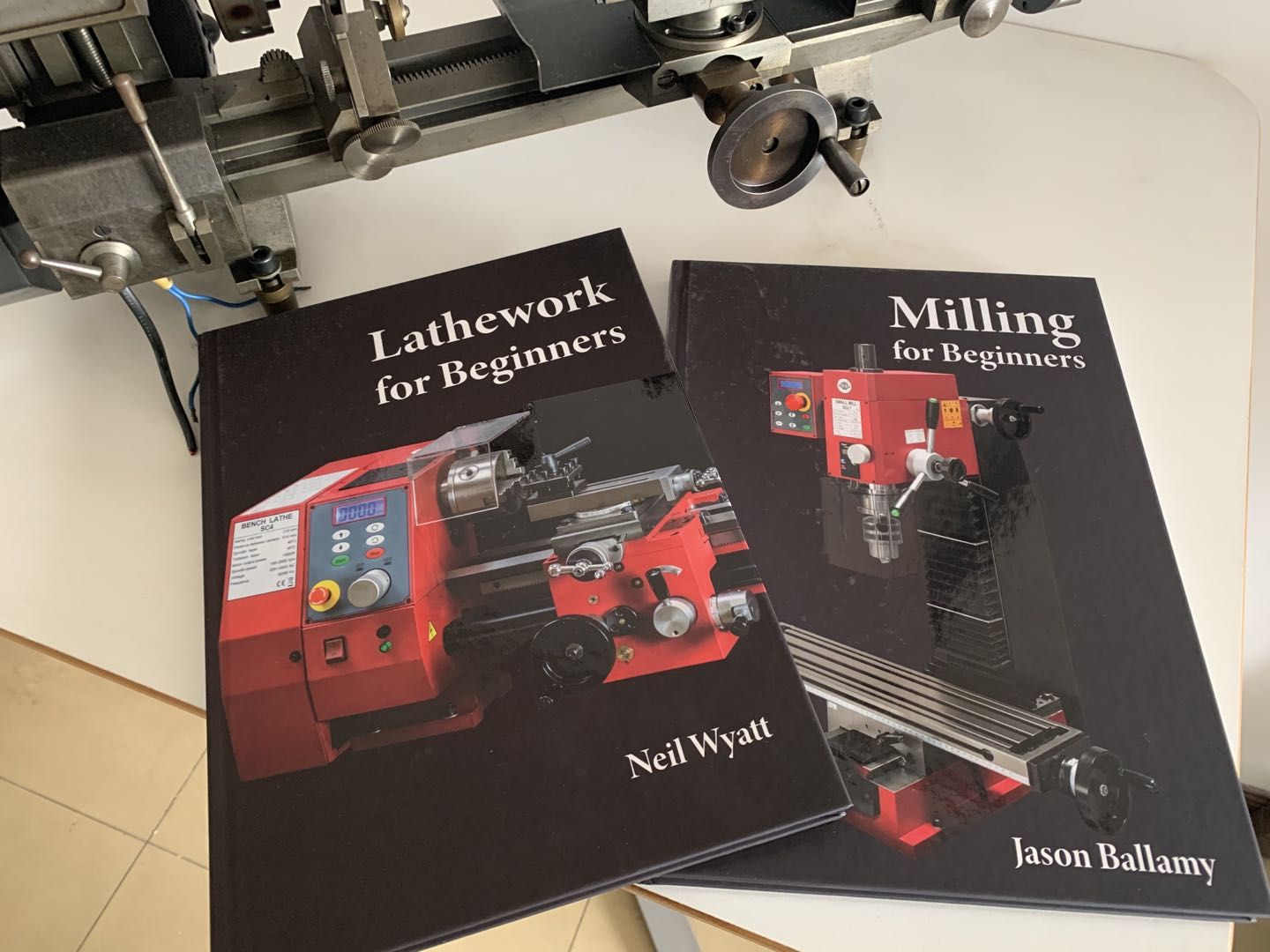 2 Great New Books: Lathework for Beginners, Milling for Beginners