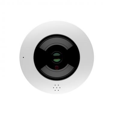 3MP WiFi 360° Panoramic Fisheye IR Dome IP Camera NCPF-3M