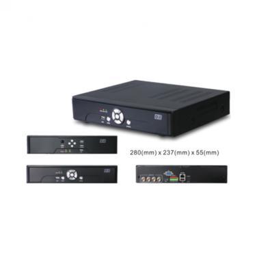 4CH 4MP 1080P EX-SDI /HD-SDI/IP Standalone DVR SDI4204-4M