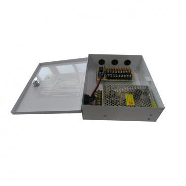 DC12V 5A 9CH 60W AC100-240V Power Supply Box SY-60W-9CH-C