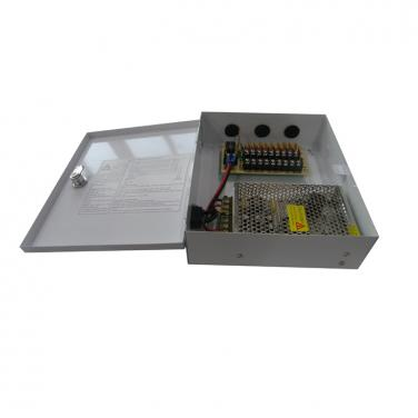 DC12V 10A 9CH 120W AC100-240V Power Supply Box SY-120W-9CH-C