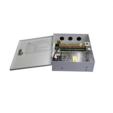DC12V 10A 18CH 120W AC100-240V Power Supply Box SY-120W-18CH-D