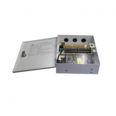 DC12V 15A 18CH 180W AC100-240V Power Supply Box SY-180W-18CH-A