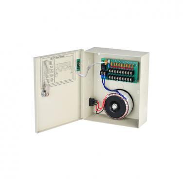 24VAC 4CH 10A 240W AC Power Supply Box AP2404-10AC
