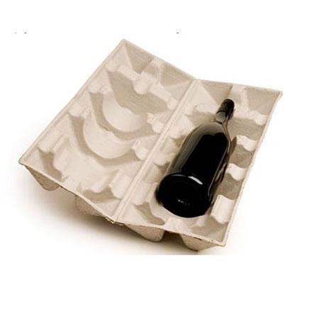 wine bottle paper pulp tray
