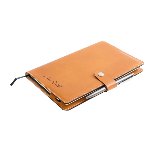 PU Notebook With Pen