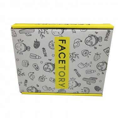 Printed Colorful Tuck Top Box