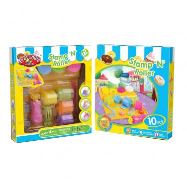 Colorful Corrugated Toys Packing Box with Clear Window