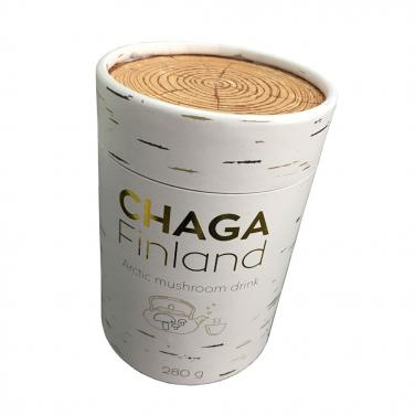 Cardboard Paper Tube for tea with gold foil stamping logo