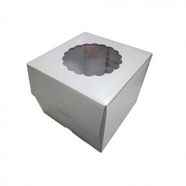 Cake Box With PVC Window