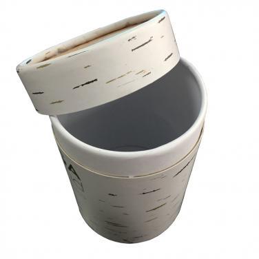 Custom paper tube for tea packaging
