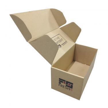 Kraft Mailer Box With Logo Printing