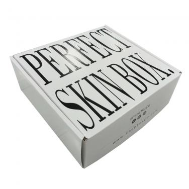 White Mailer Box With Black Printing
