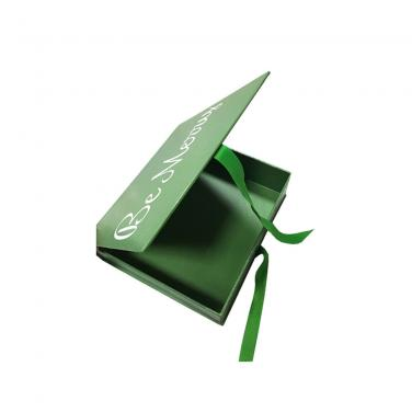 Luxury Rigid paper birthday gift packaging with Ribbon