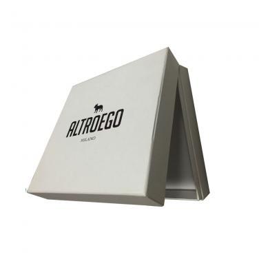 Fashion Style Logo Printed Cardboard Box Birthday Gift Box