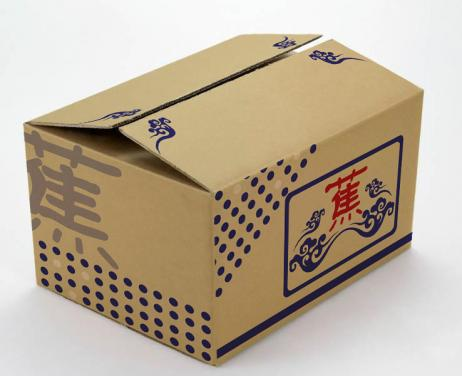 Printing Carton Banana Box Sizes Packaging