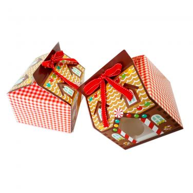 Custom design Christmas Gift Candy Box