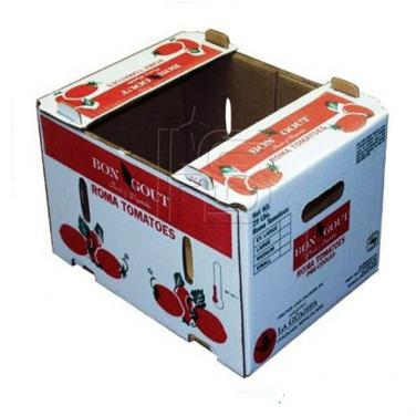 Custom Made Corrugated Tomato Carton