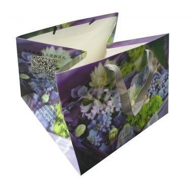 Custom Flower Paper Bags