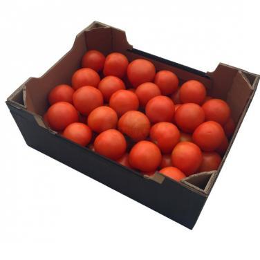 Custom made black tomato box